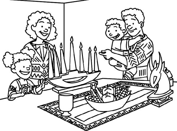 600x444 Kwanzaa Coloring Sheets Kwanzaa Coloring Pages Printable Coloring