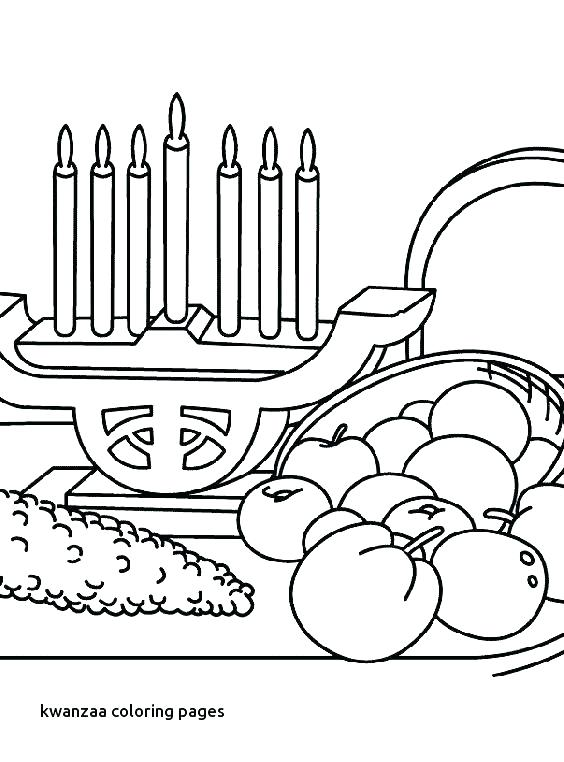 564x762 Kwanzaa Coloring Pages Printable