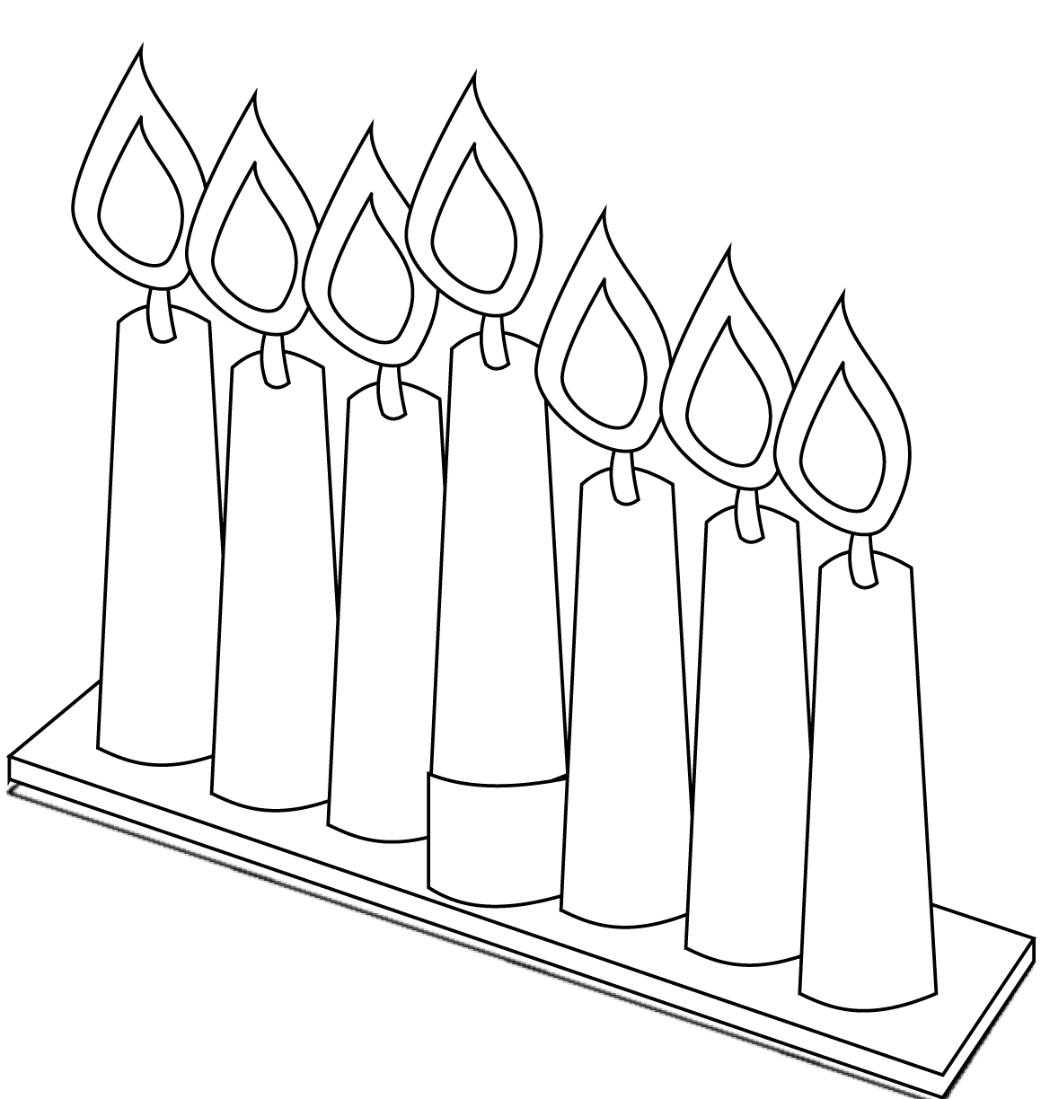 1159x1224 Great Kwanzaaloring Pages Preschool Candle Holder Page Happy Free