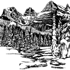 268x268 Coloring Pages Free Coloring Pages Of Adult Landscape, Landscape