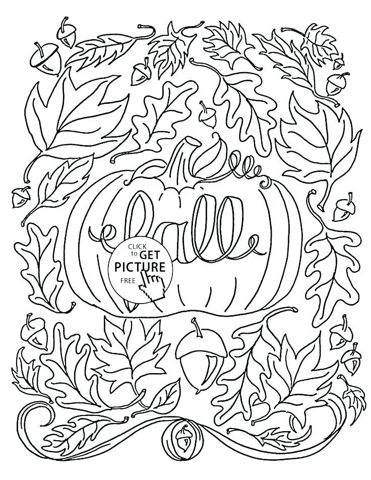 736x952 Thanksgiving Leaves Coloring Pages Autumn Leaves Coloring Pages