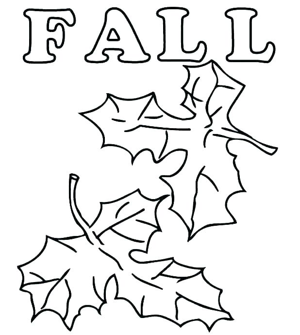 618x690 Leaf Coloring Pages To Print Icontent