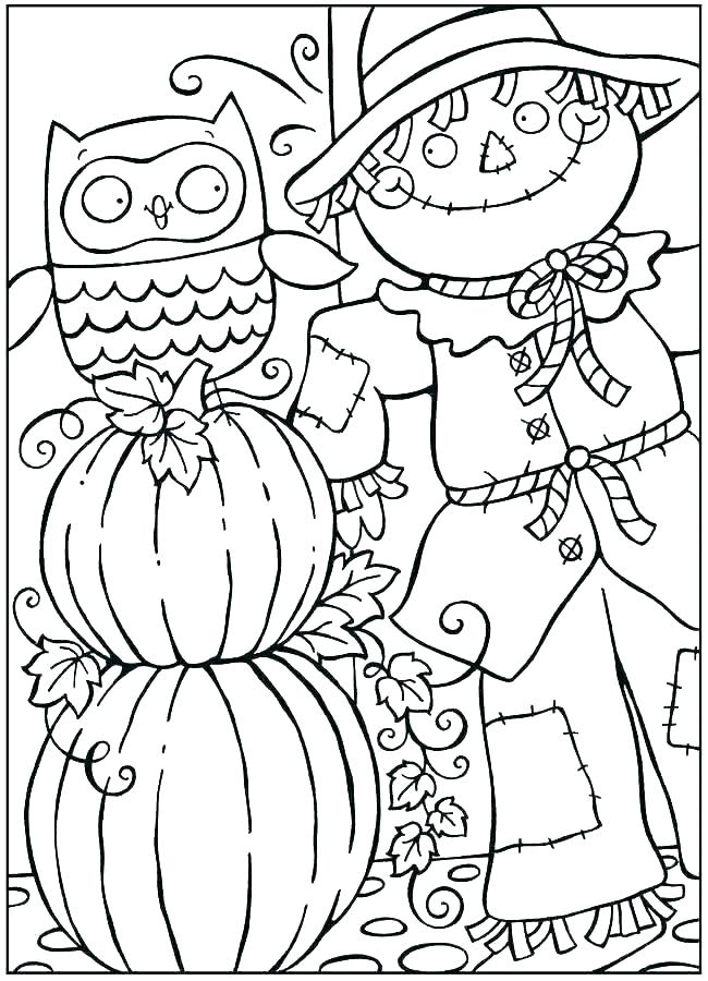 650x900 Fall Coloring Sheets To Print Free Fall Coloring Sheets Coloring