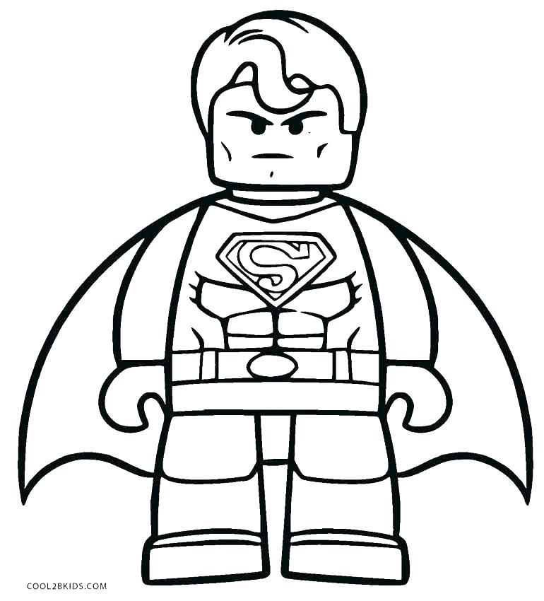 770x850 Lego Batman Coloring Pages Batman Coloring Page Free Batman