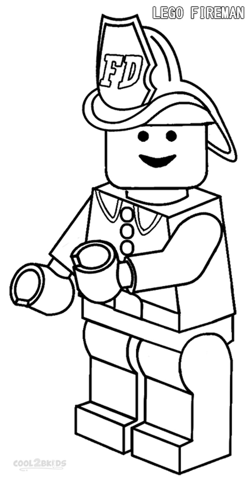 850x1615 Free Firefighters Coloring Pages Lego Firefighter Fighting Attire