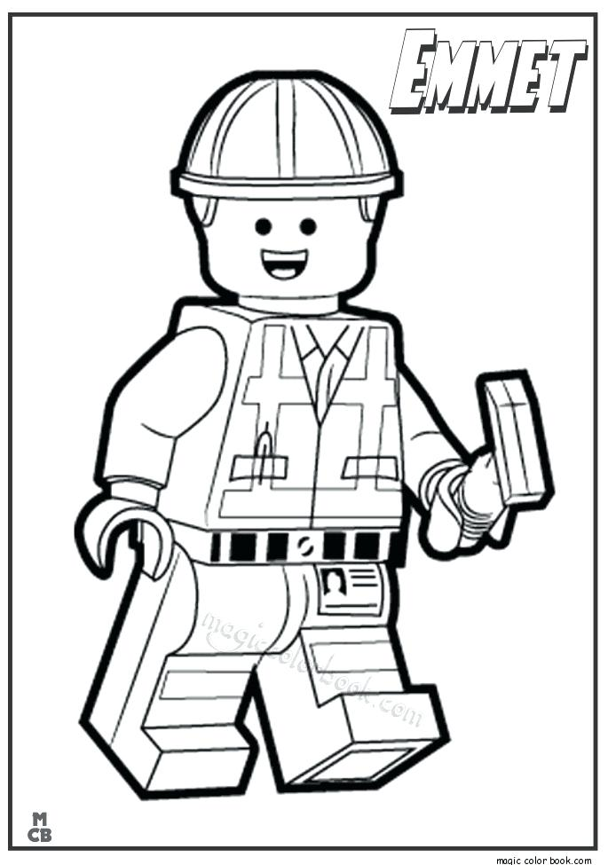 Free Lego Movie Coloring Pages at GetDrawings | Free download