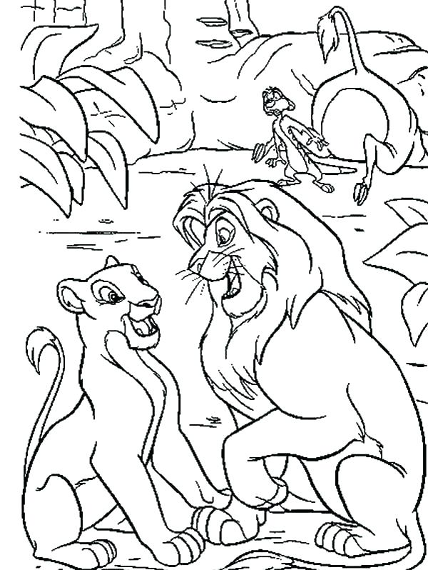 600x798 Disney Lion King Coloring Pages Lion King Coloring Free Lion King