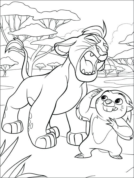 568x758 Lion Guard Printable Coloring Pages Printable Coloring Pages