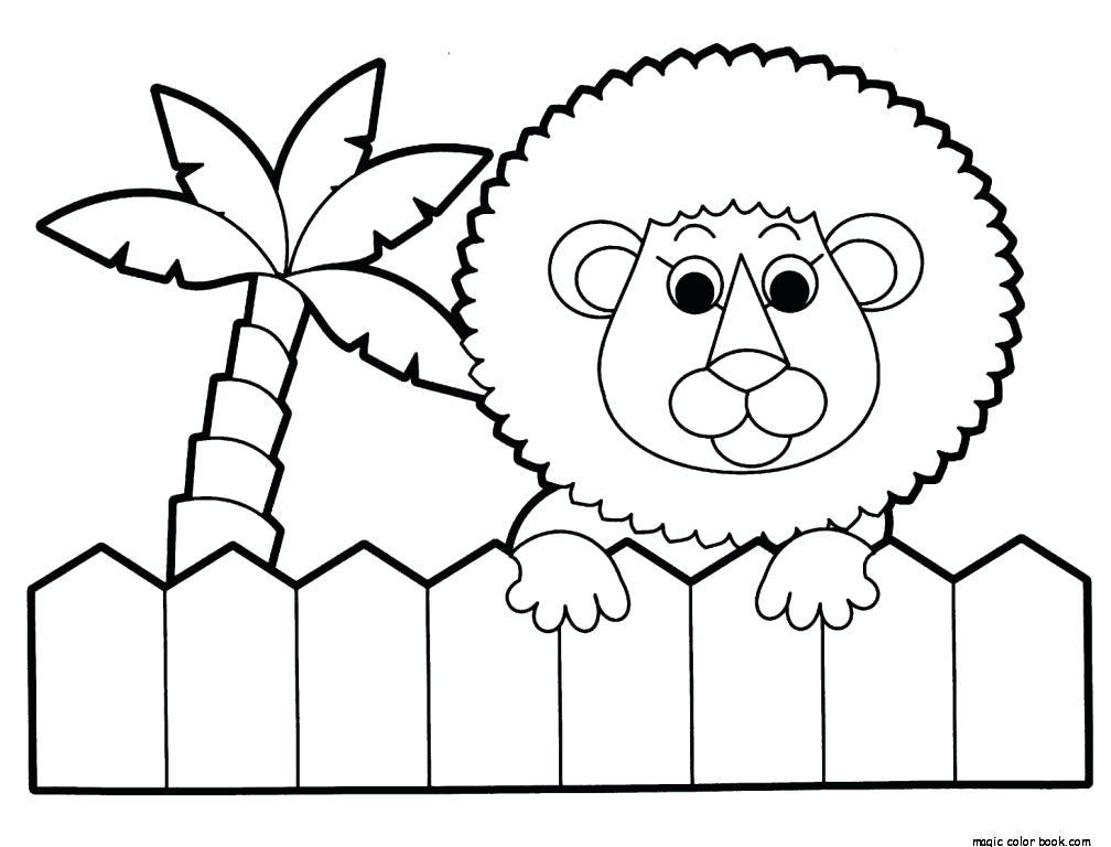1008x768 Zoo Lion Coloring Pages Online Free Lion Guard Color Pages Lion