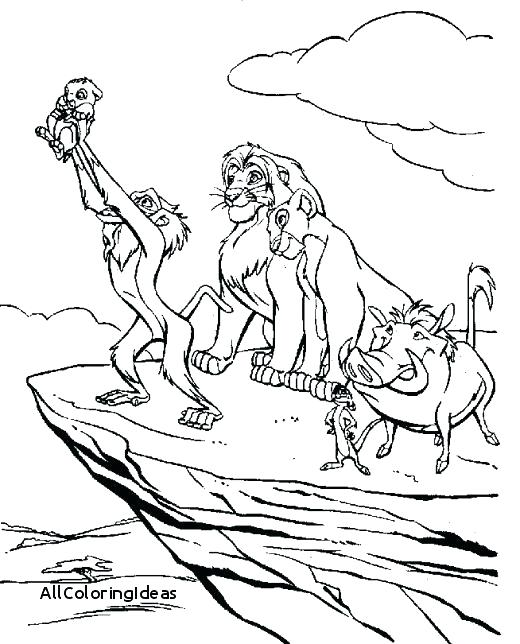 520x644 Lion Coloring Pages Lion King Printable Coloring Pages Lion King