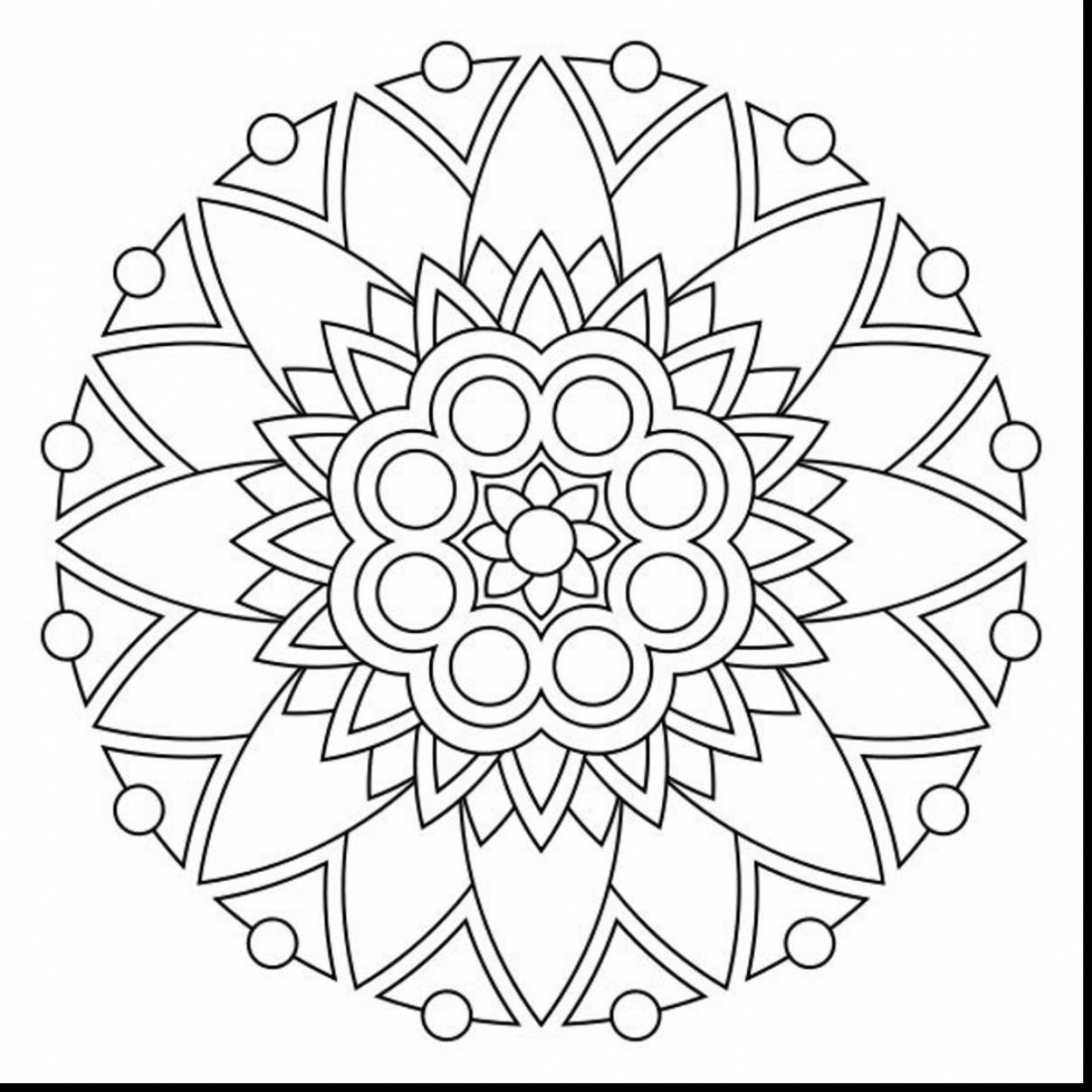 1247x1247 Printable Mandala Coloring Pages With Wallpapers Hd Desktop New