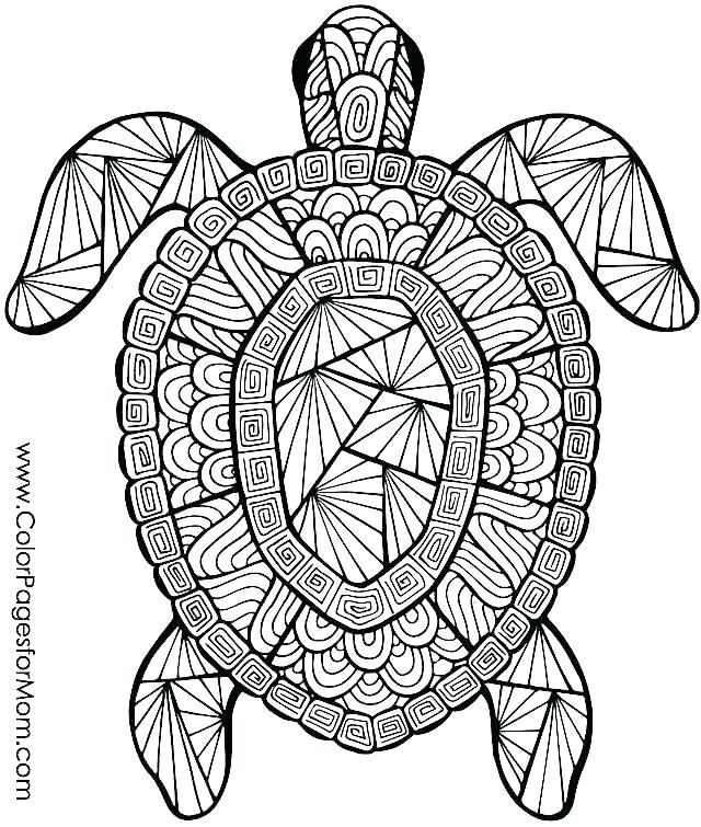 Free Mandala Coloring Pages Animals