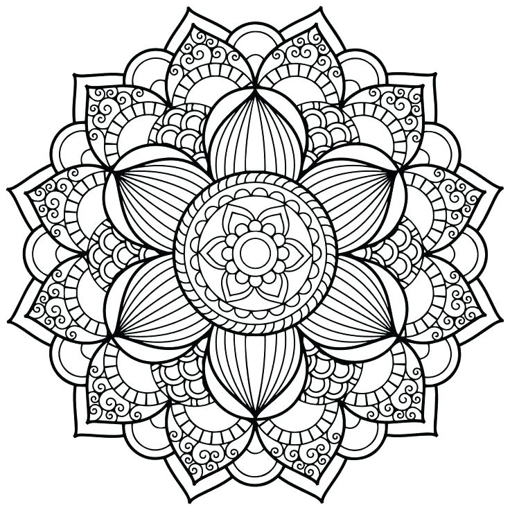 736x736 Mandala Coloring Pages Coloring Pages Mandala Mandala Coloring