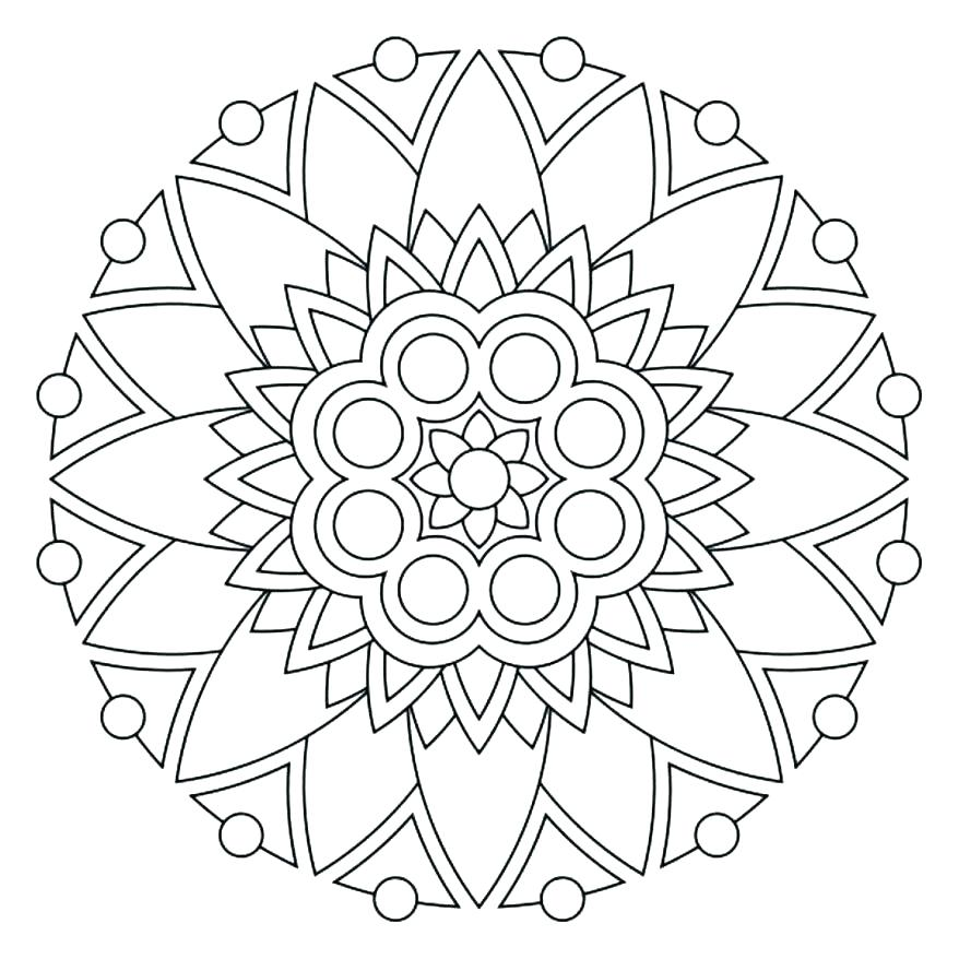Free Mandala Coloring Pages For Kids At Getdrawings Com Free For