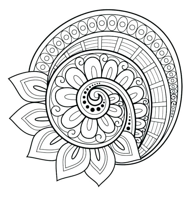 Free Mandala Coloring Pages Pdf