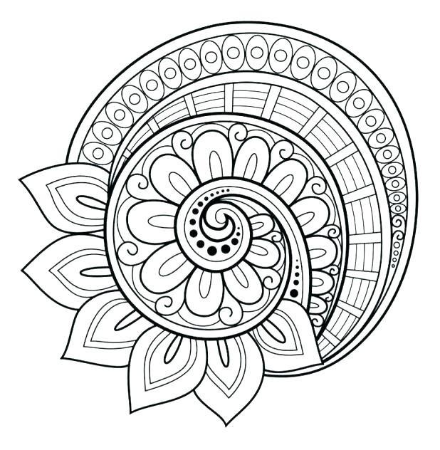 Free Mandala Coloring Pages Pdf At Getdrawings Free Download