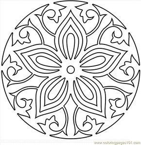290x297 Mandala Coloring Pages Pdf Free Printable Coloring Page