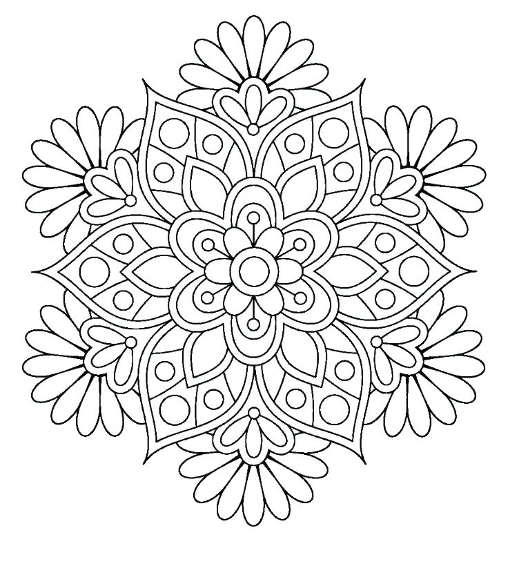 Free Mandala Coloring Pages Pdf At Getdrawings Com Free For