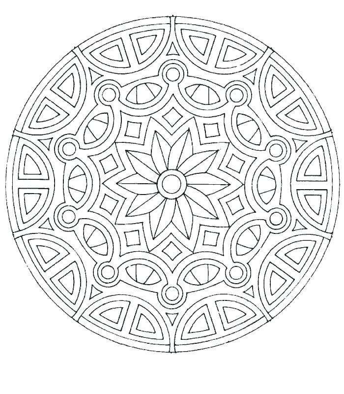 700x800 Coloring Page Mandala Best Mandala Coloring Pages Ideas On Mandala