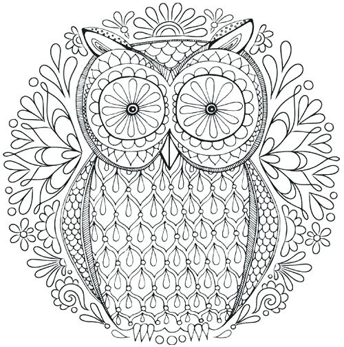 500x504 Coloring Page Mandala Free Mandala Coloring Pages To Print As Well