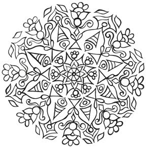 288x289 Eye Pop Art Free Mandala Coloring Pages For You