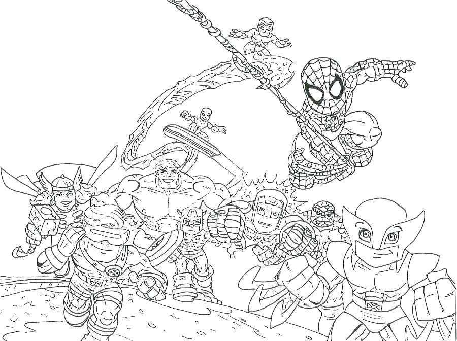 Free Marvel Coloring Pages At Getdrawings Com Free For Personal