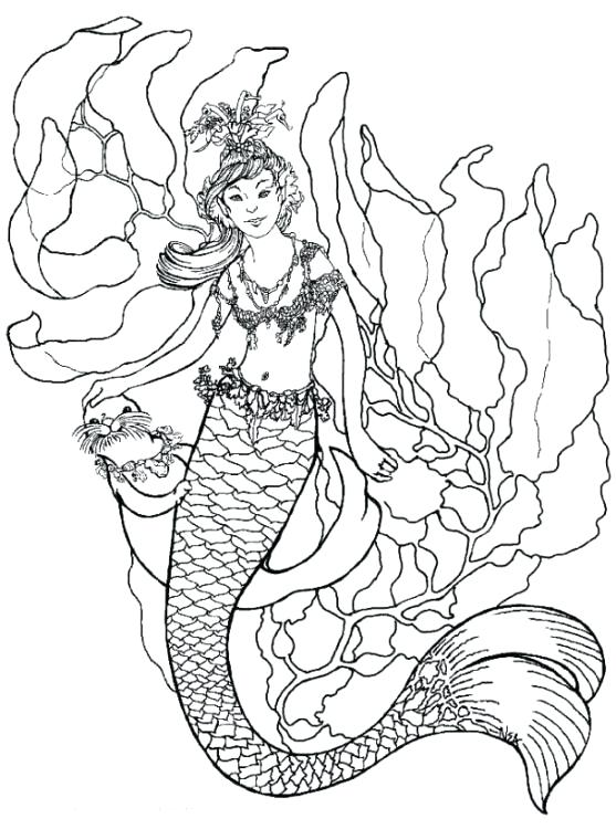Free Mermaid Coloring Pages At Getdrawings Com Free For Personal