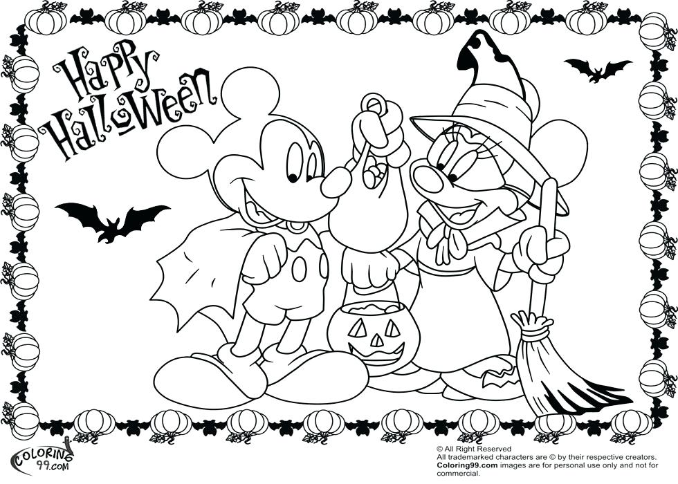 980x700 Free Printable Minnie And Mickey Mouse Coloring Pages As Sailor