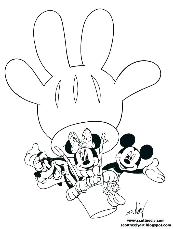 Free Mickey Mouse Clubhouse Coloring Pages
