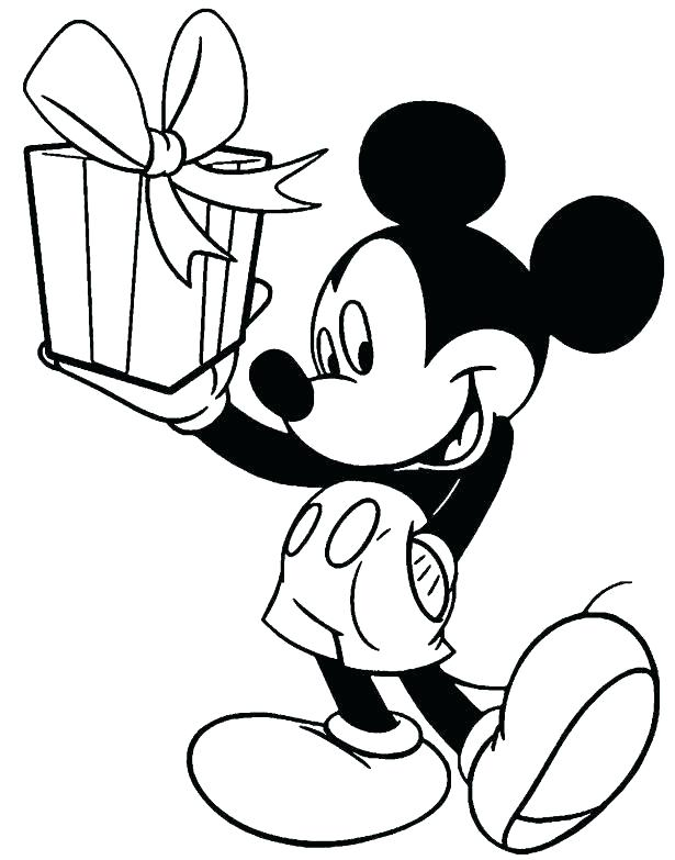 615x783 Mickey Mouse Clubhouse Coloring Pages Free Mickey Mouse Birthday