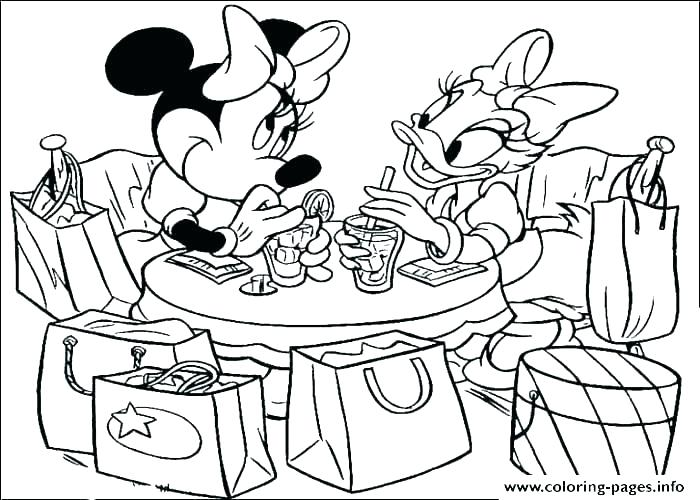 700x500 Coloring Pages Mickey Mouse Clubhouse