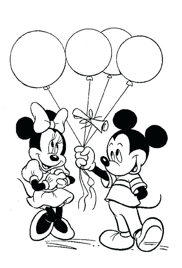600x880 Free Coloring Pages Mickey Mouse Mickey Mouse Clubhouse Coloring