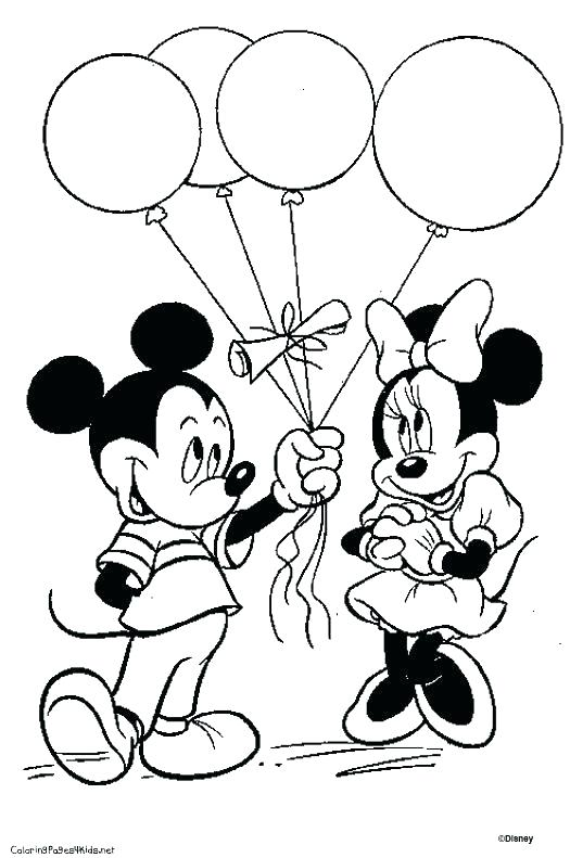 525x791 Mickey Mouse Coloring Page Mickey Mouse Coloring Pages Free Mickey