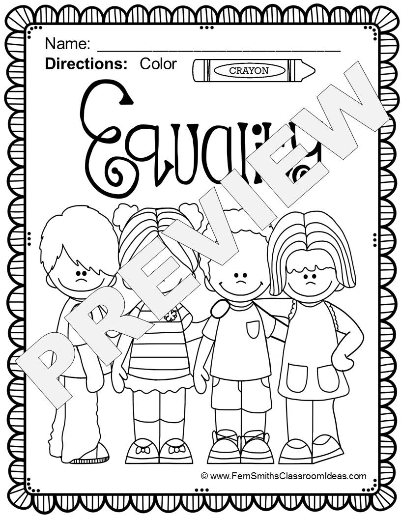 Free Mlk Coloring Pages