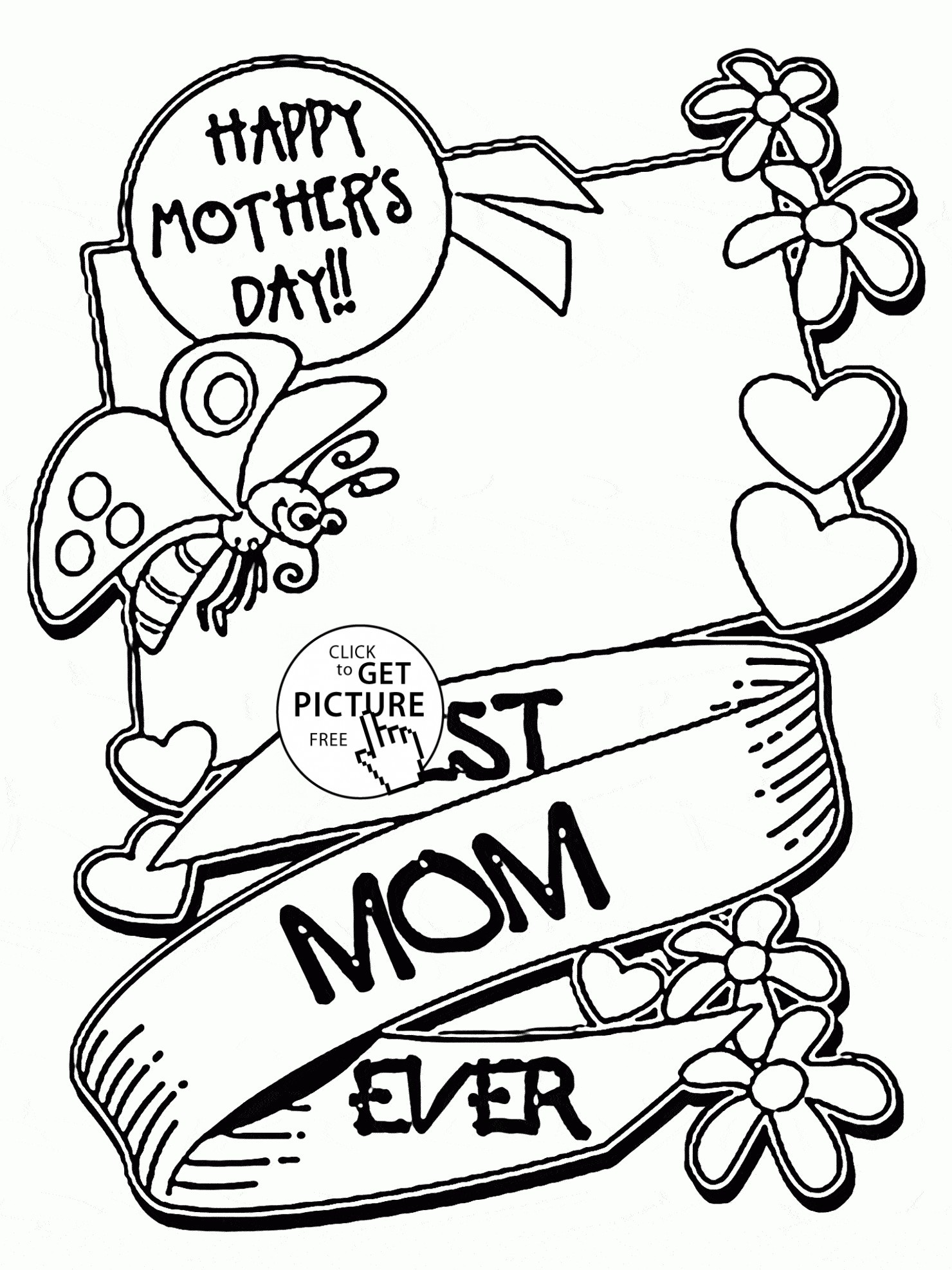 1480x1973 Mothers Day Coloring Day Pages Copy Free Printable Mothers Day