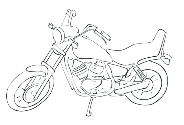 Free Motorcycle Coloring Pages At Getdrawings Com Free For