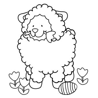 340x340 Easter Lamb