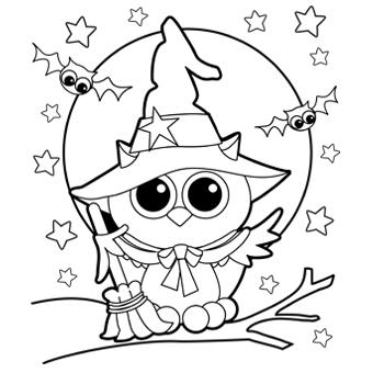340x340 Owl Witch