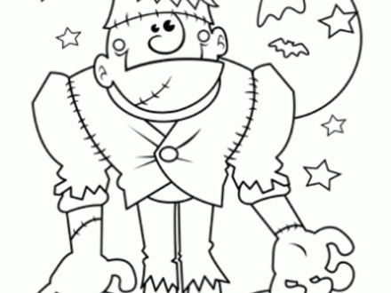 440x330 Oriental Trading Free N Fun Halloween Monster Coloring Pages