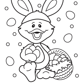340x340 Easter Duck