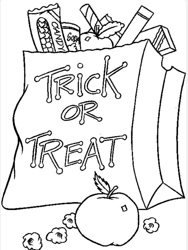 Free N Fun Halloween Coloring Pages