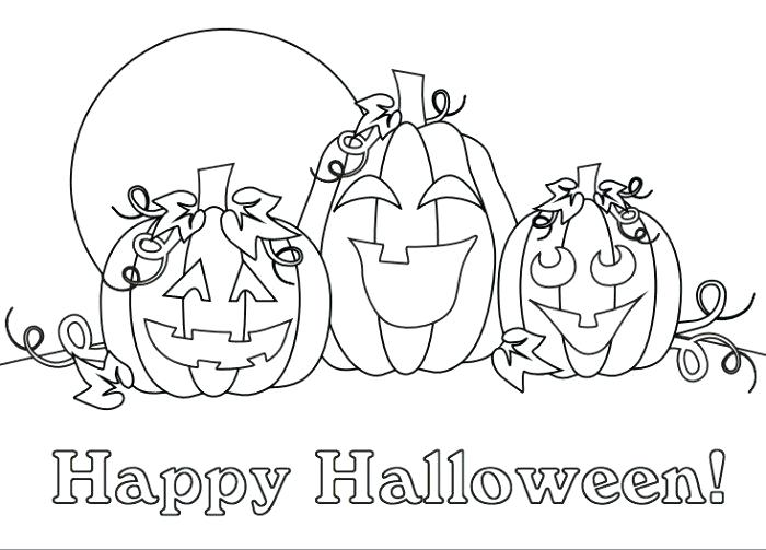 700x503 Happy Monster Free N Fun Halloween From Oriental Trading Coloring