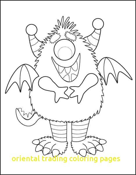468x604 Oriental Trading Free N Fun Halloween Monster Coloring Pages