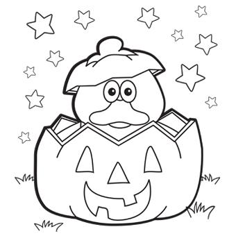 340x340 Duck Pumpkin