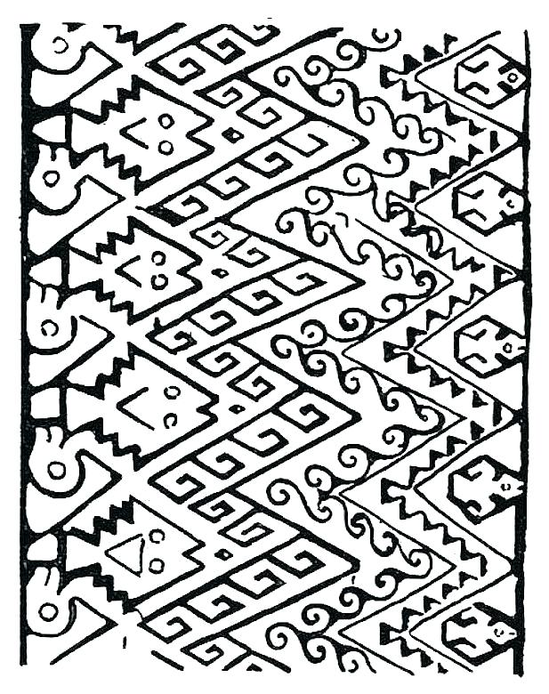617x780 Native Coloring Pages Southwestern Native Coloring Page Free