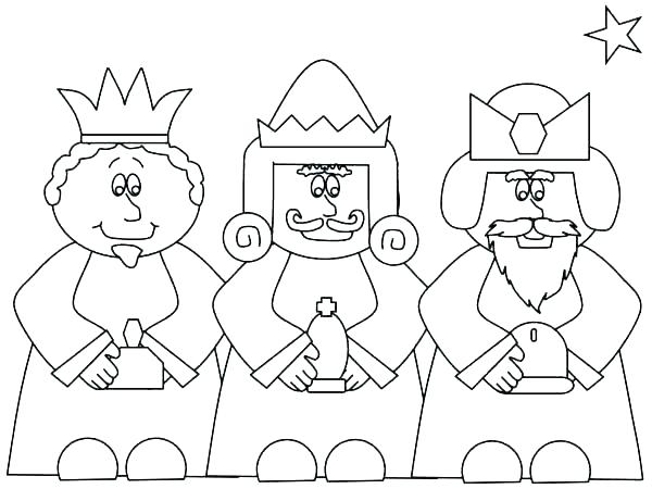 600x450 Nativity Coloring Page Coloring Ideas Pro