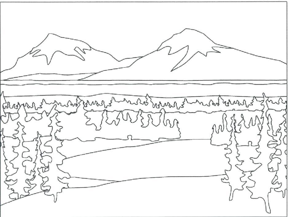 940x708 Nature Coloring Pages Nature Coloring Pages For Adults Nature