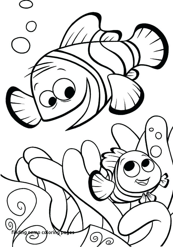 600x856 Finding Nemo Coloring Pages Finding Coloring Pages Finding Nemo