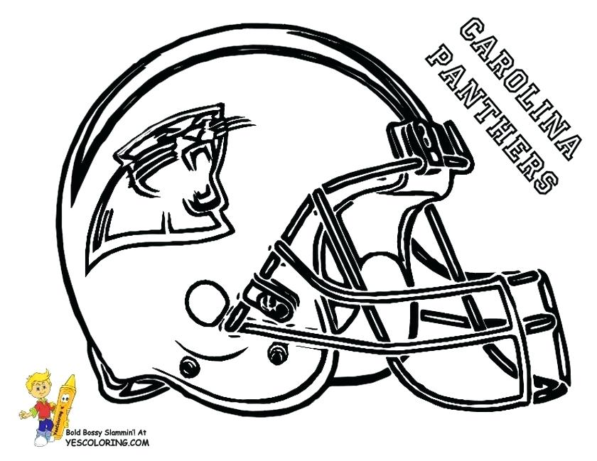 840x649 Free Nfl Coloring Pages Coloring Pages Helmets Free Nfl Logo
