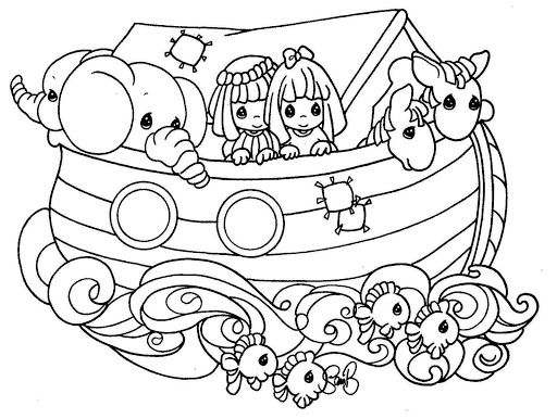 Free Noah Ark Coloring Pages